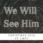 New Year's Services at LMPC