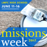 High School Missions Week 2017
