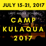 Middle School Camp Kulaqua