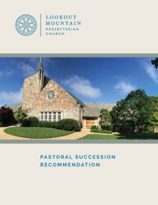 Pastoral Succession Recommendation